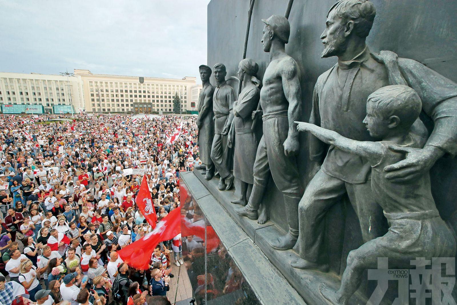 拒接受白俄總統大選結果