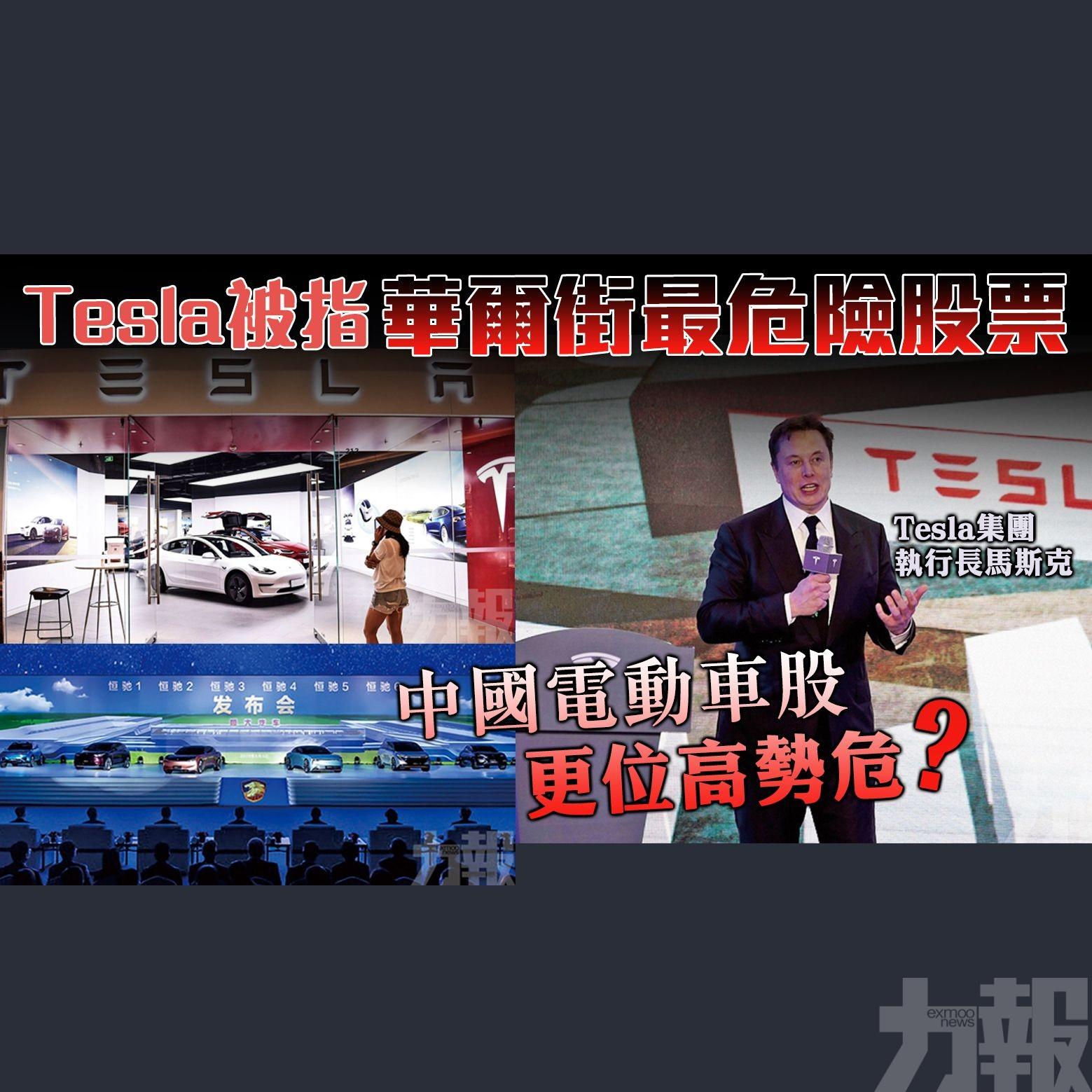 中國電動車股更位高勢危?