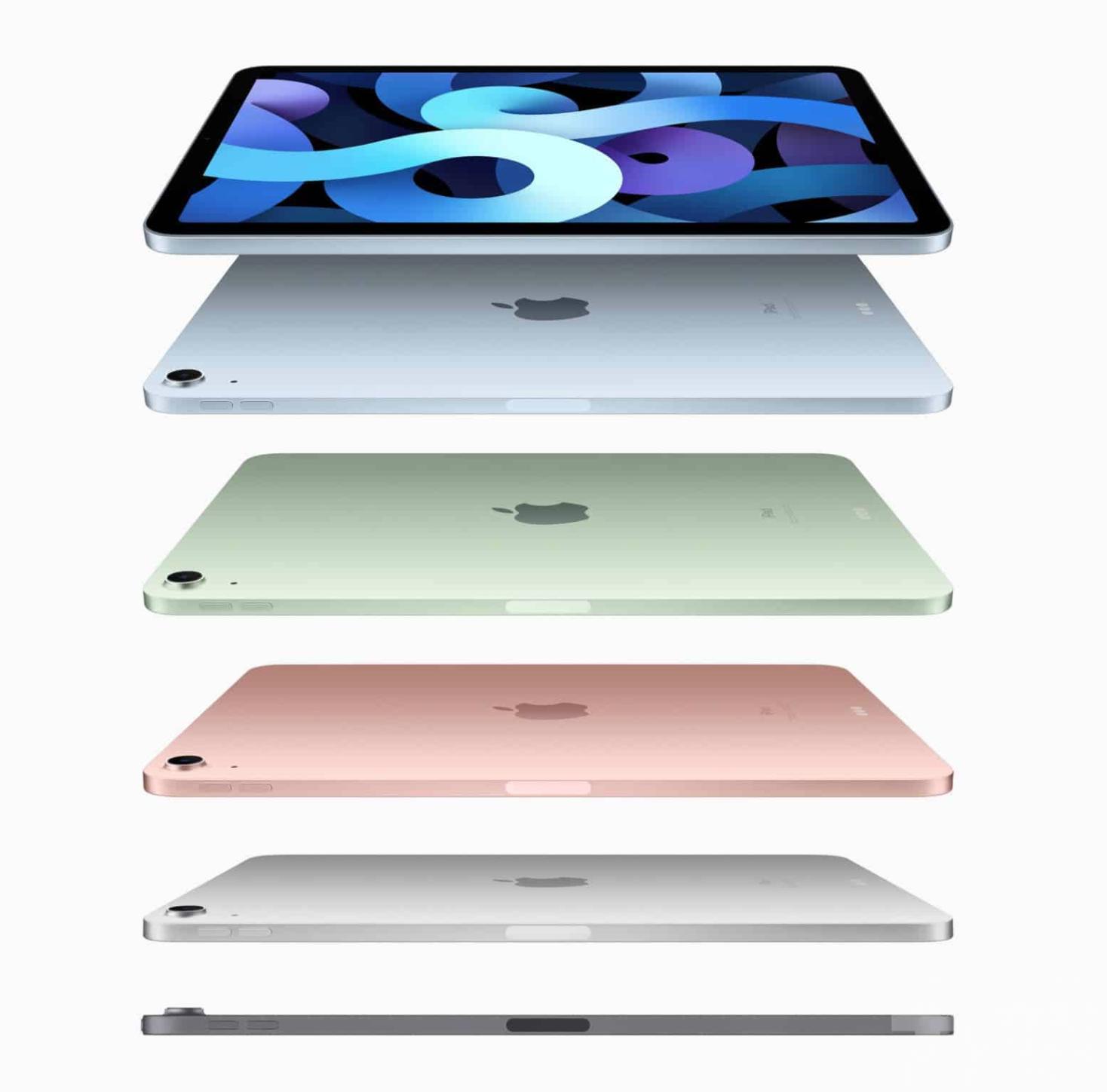 五色iPad Air運算力高四成