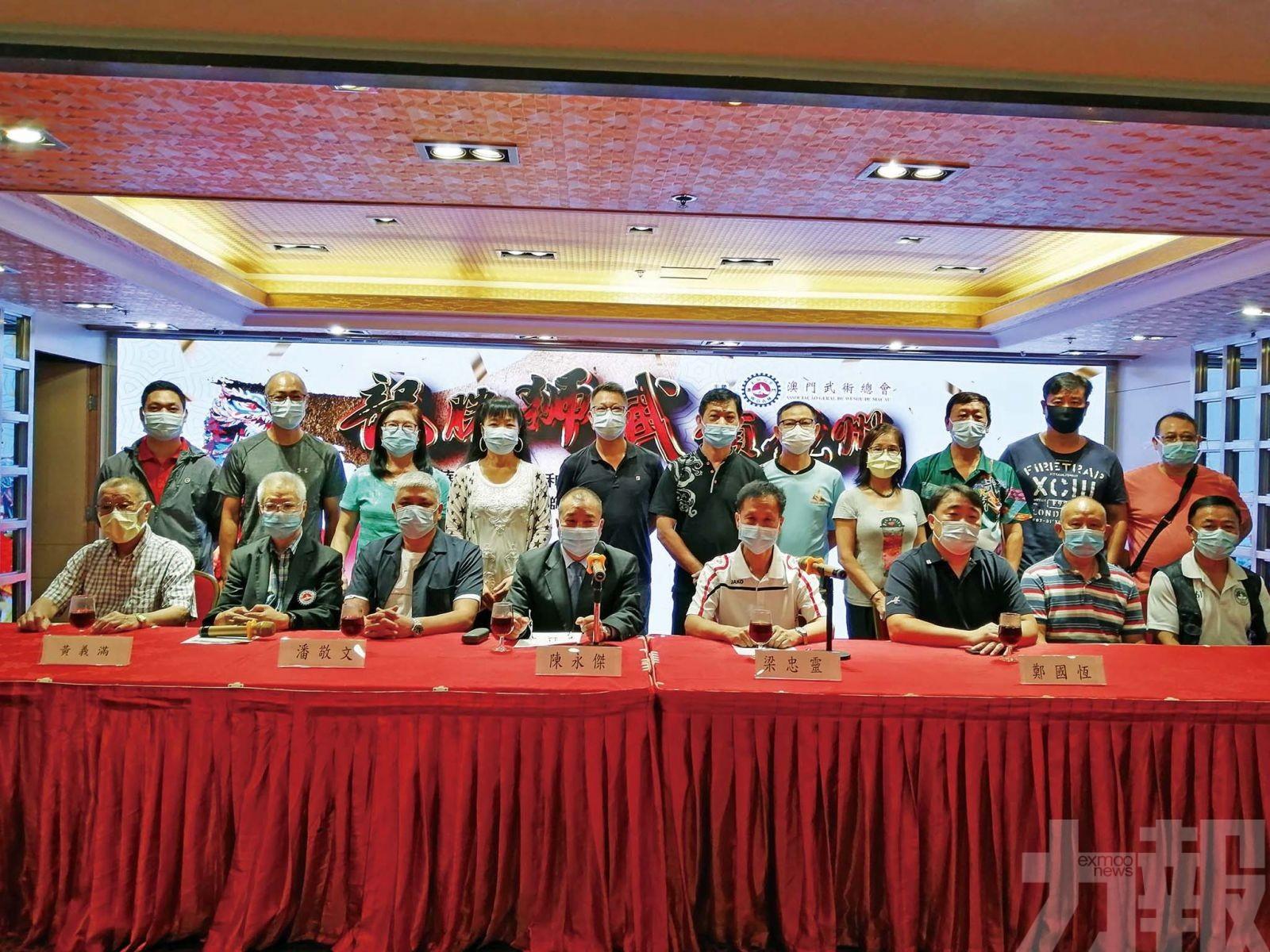 龍騰獅武頌鏡州周日塔石廣場舉行
