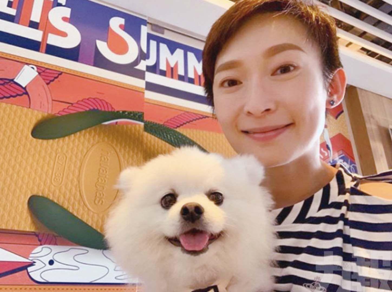 周家怡離巢八年重返TVB拍劇