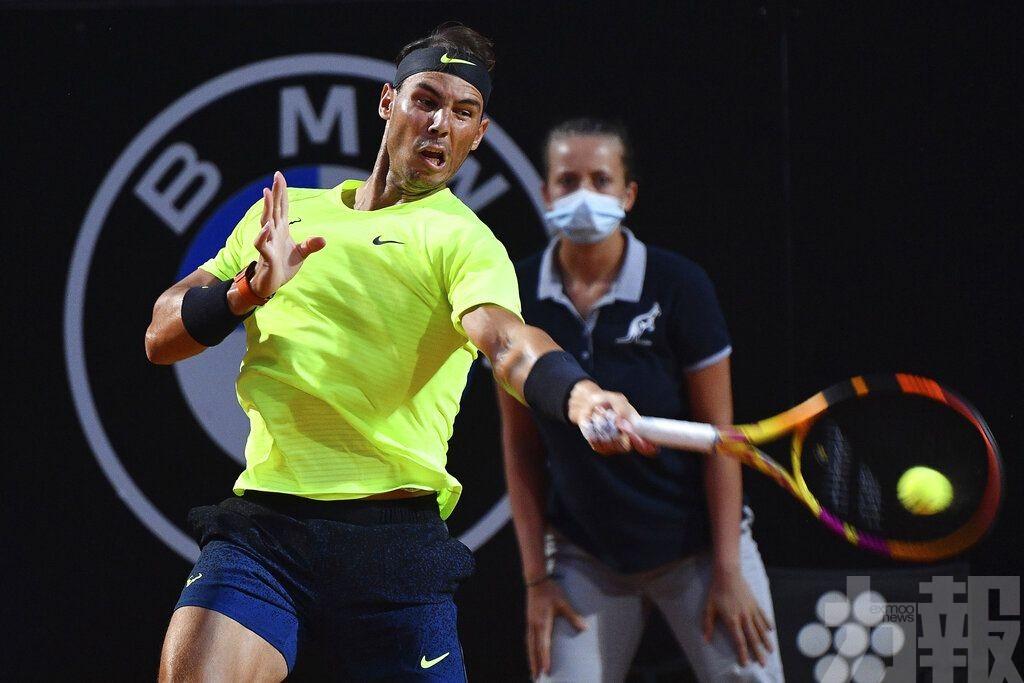 拿度羅馬網球大師賽過關