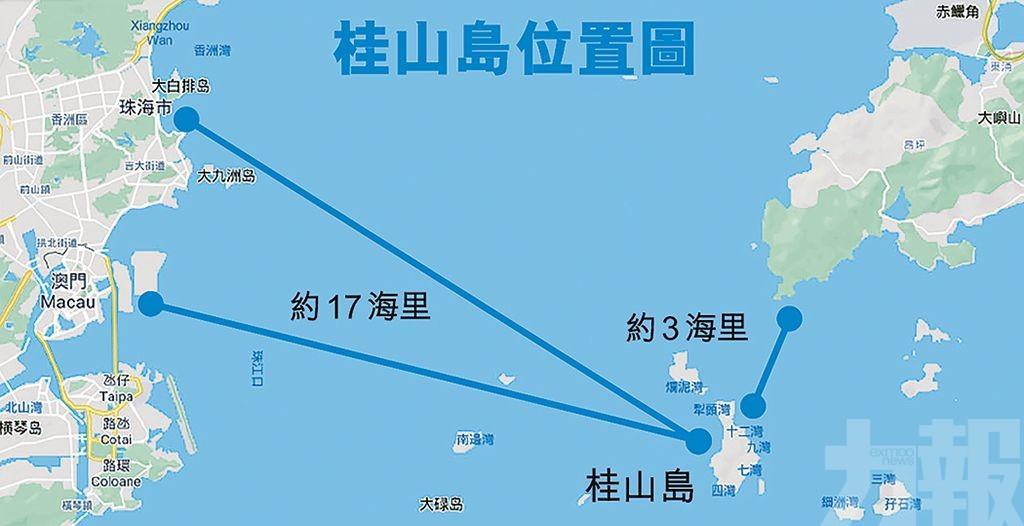 大灣區聯合開發桂山島