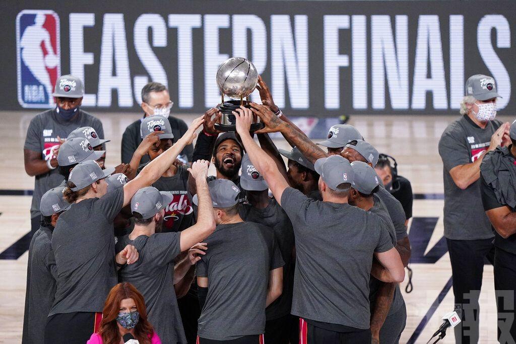 熱火晉NBA總決賽鬥湖人