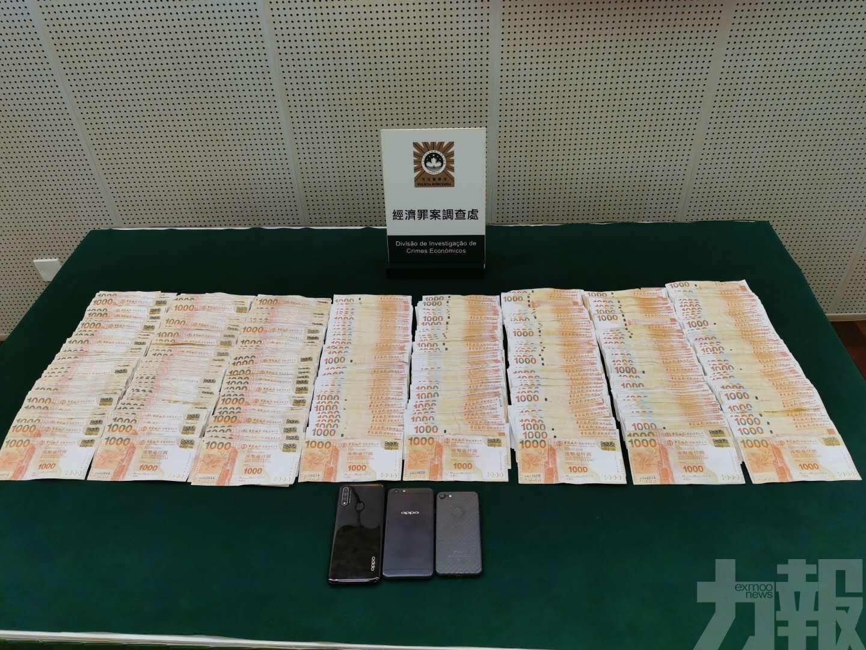 男賭客被騙72萬人民幣