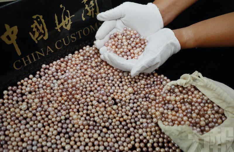 內地男攜4.5公斤珍珠入珠遭截