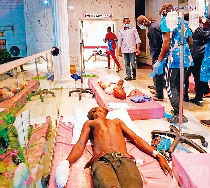尼國反警暴示威演變成騷亂