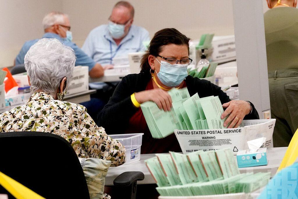美國大選逾7,000萬人提前投票