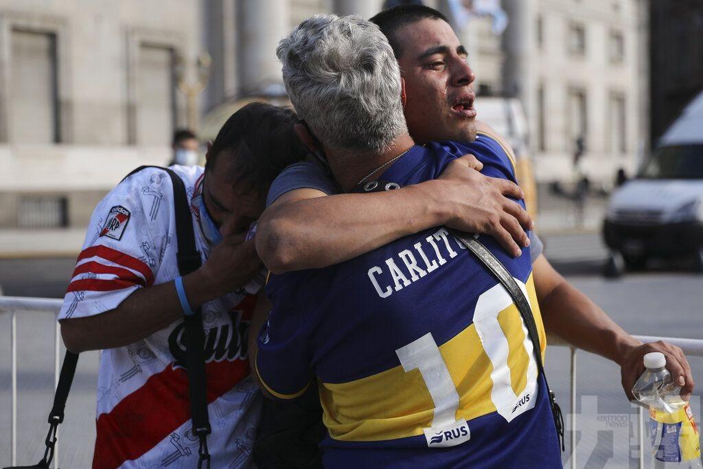 阿根廷政府為馬勒當拿舉行國葬