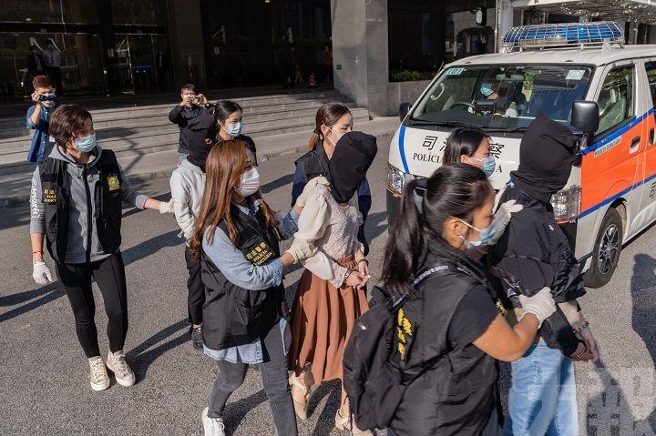 拘捕11人 三人為本澳女學生