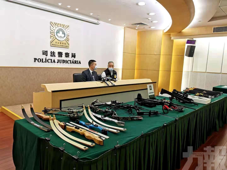 警揭金融男住宅改造兵工廠