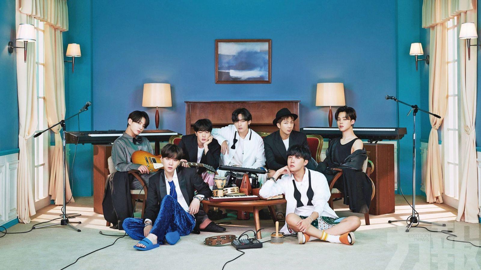 BTS韓文歌稱冠Hot 100