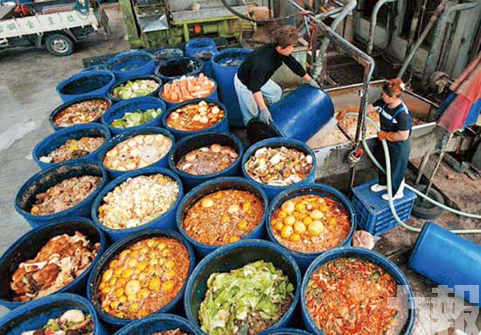 環保局:每日處理200噸廚餘