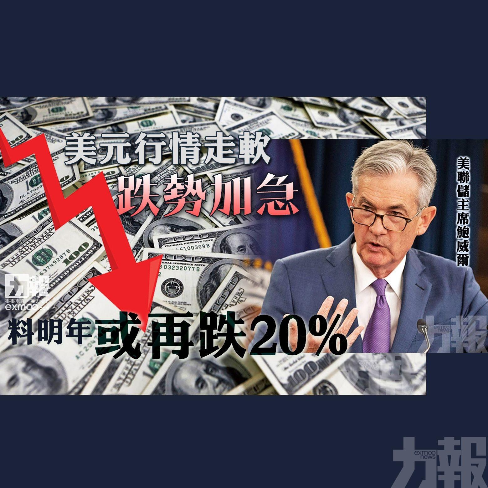 料明年或再跌20%
