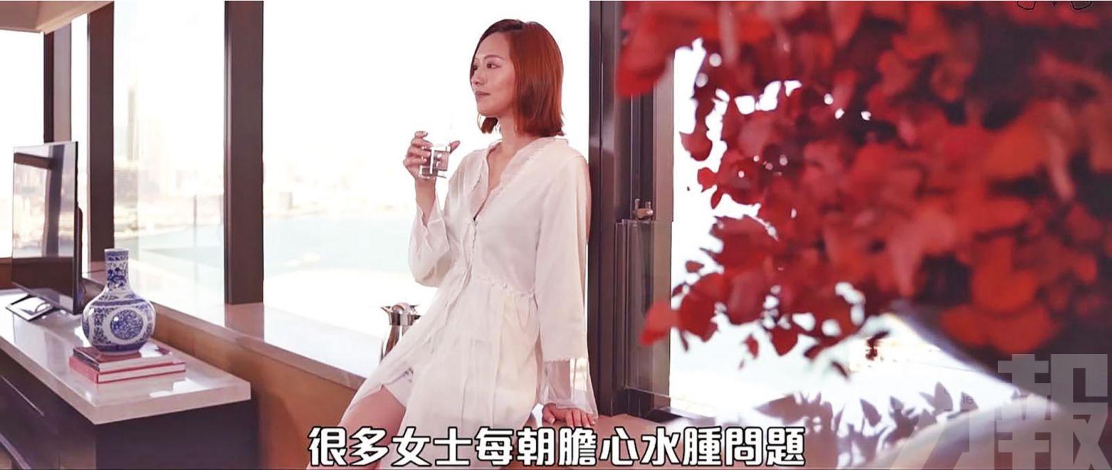 馮盈盈:香艷到自己都唔敢睇