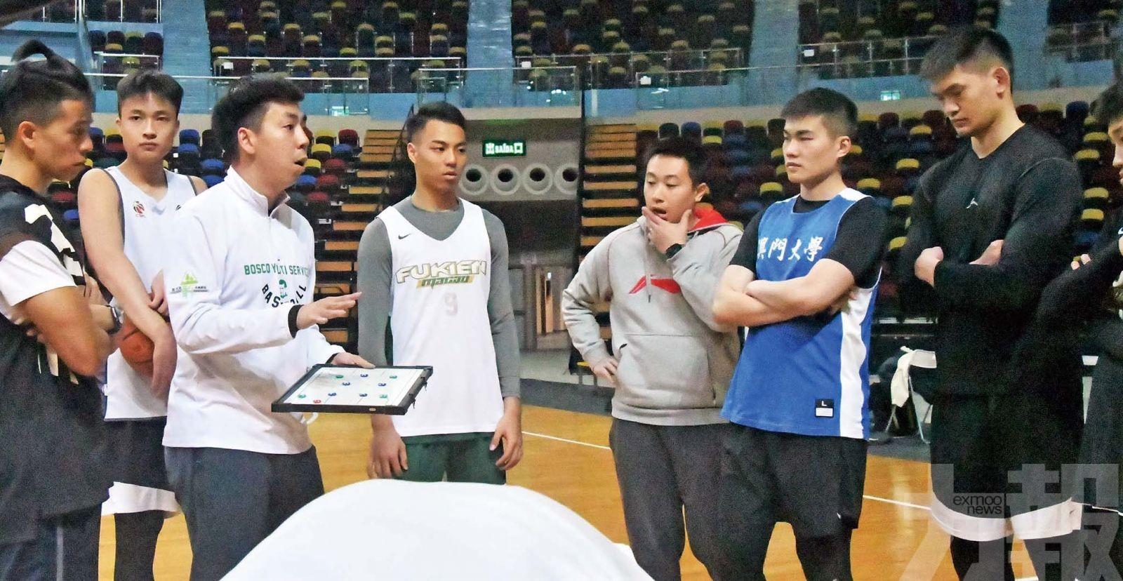 澳門男籃星級陣容戰粵澳盃