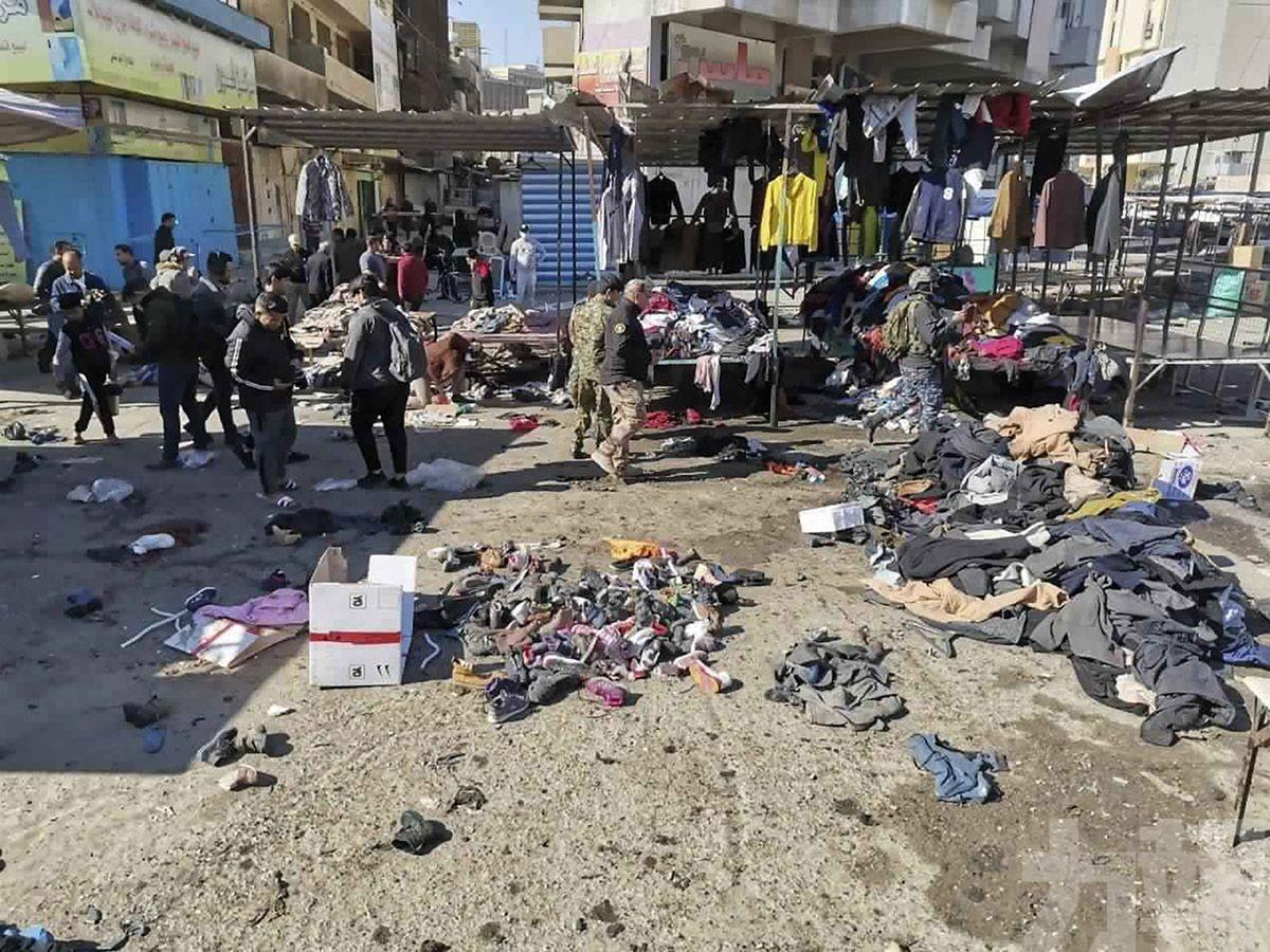 伊拉克首都自殺式爆炸增至32死