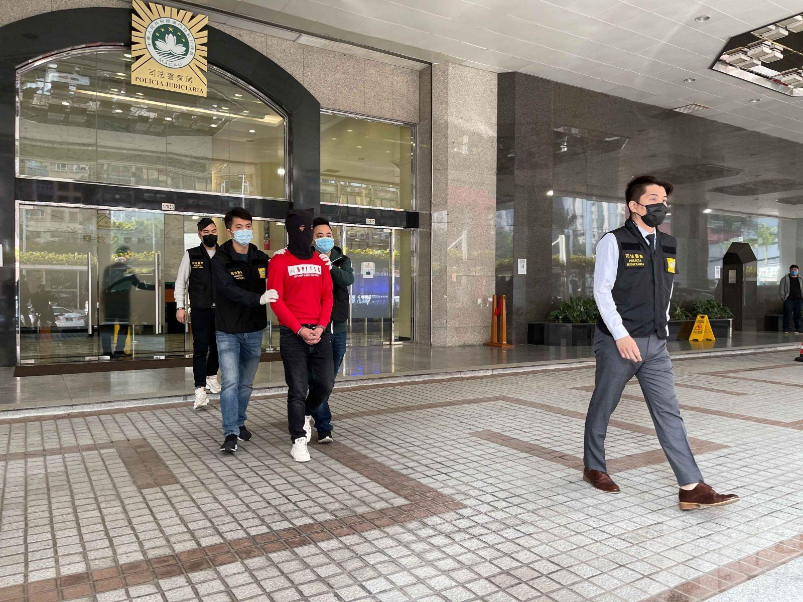 皇朝區企圖再犯案被捕