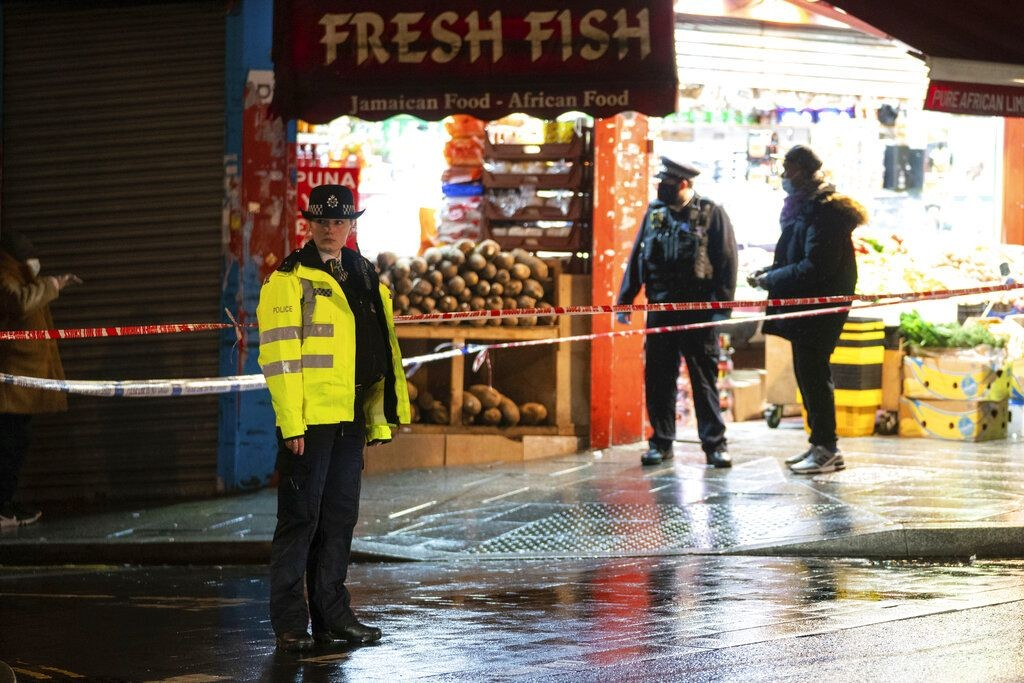 倫敦發生連環持刀傷人案