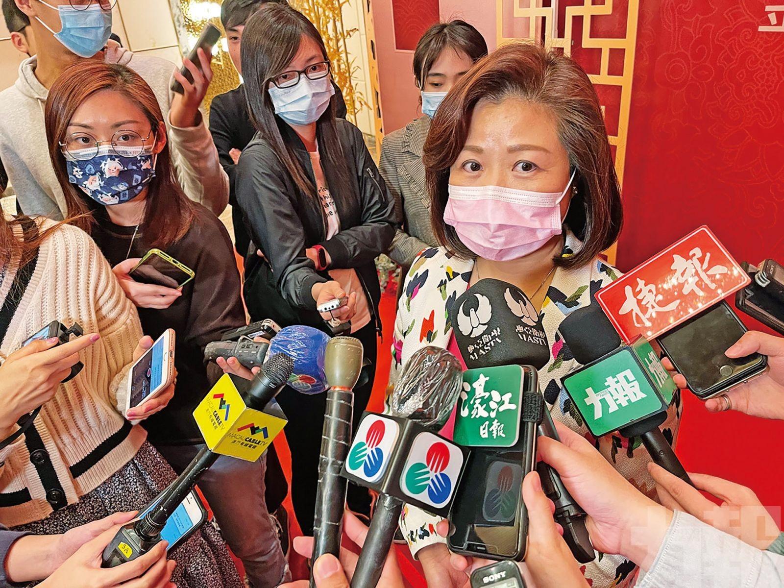 陳美儀冀廣東恢復網上簽註