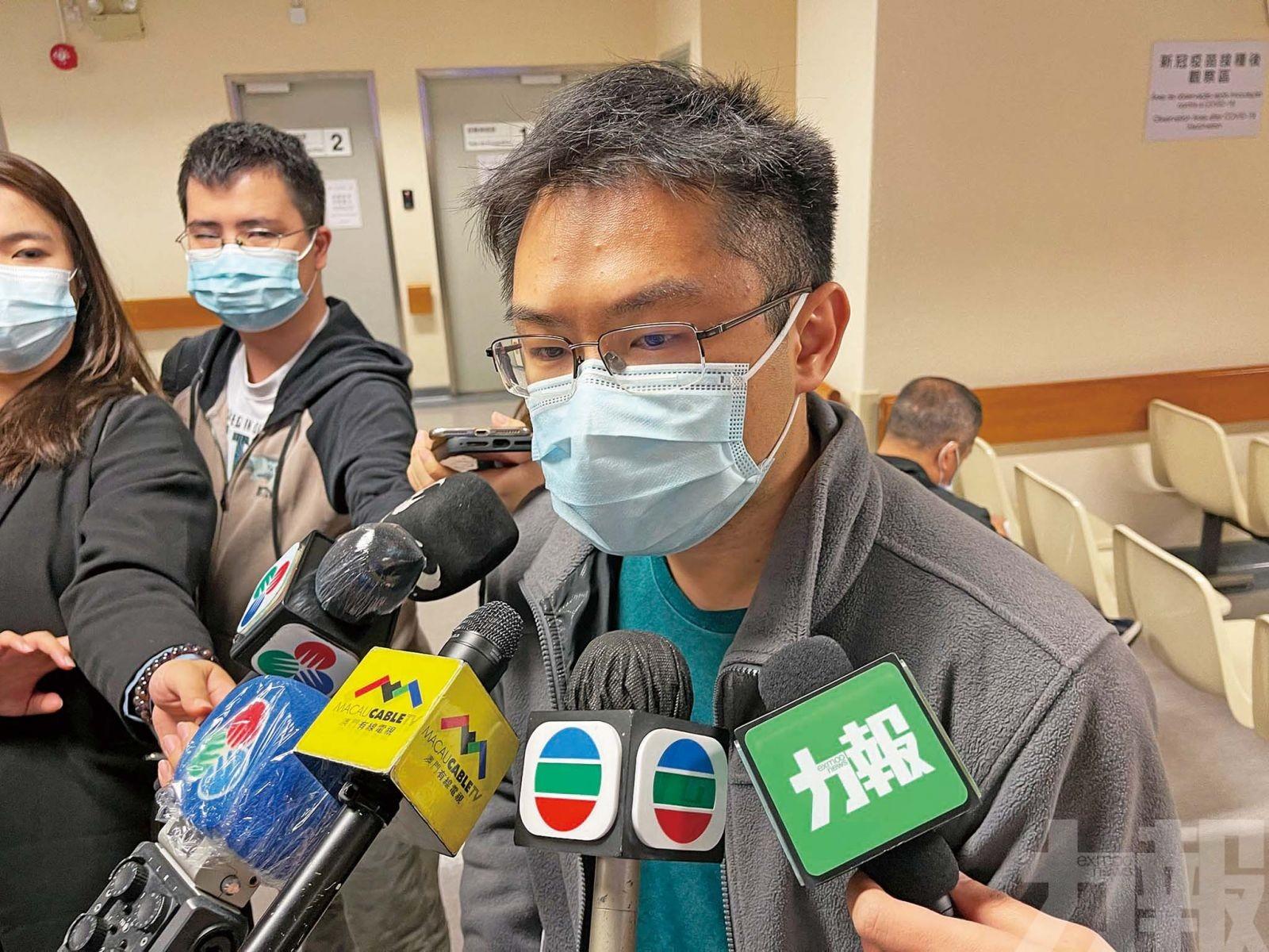 總體接種逾萬七人 僅九宗輕微不良