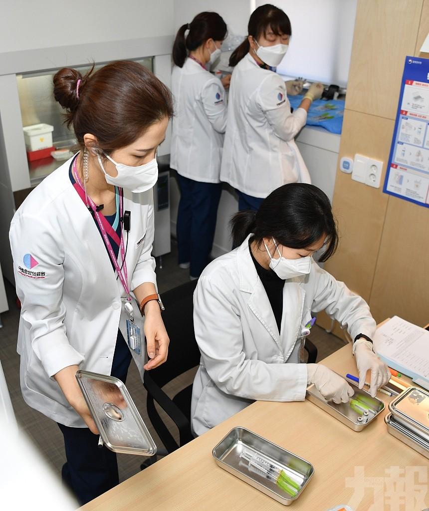 韓國男子接種新冠疫苗後出現血栓