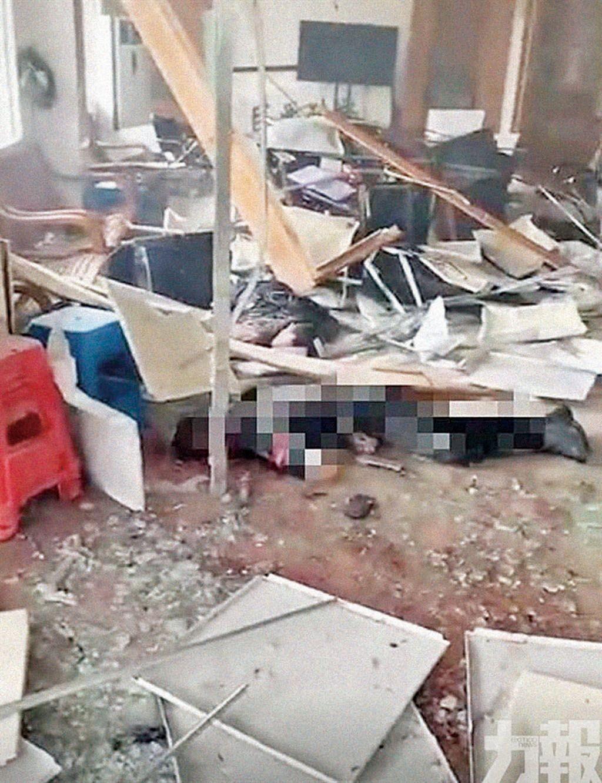 廣州番禺村委會爆炸五死五傷