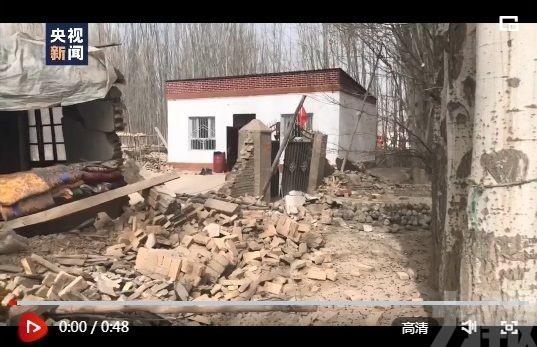 新疆拜城縣5.4級地震 3人死亡