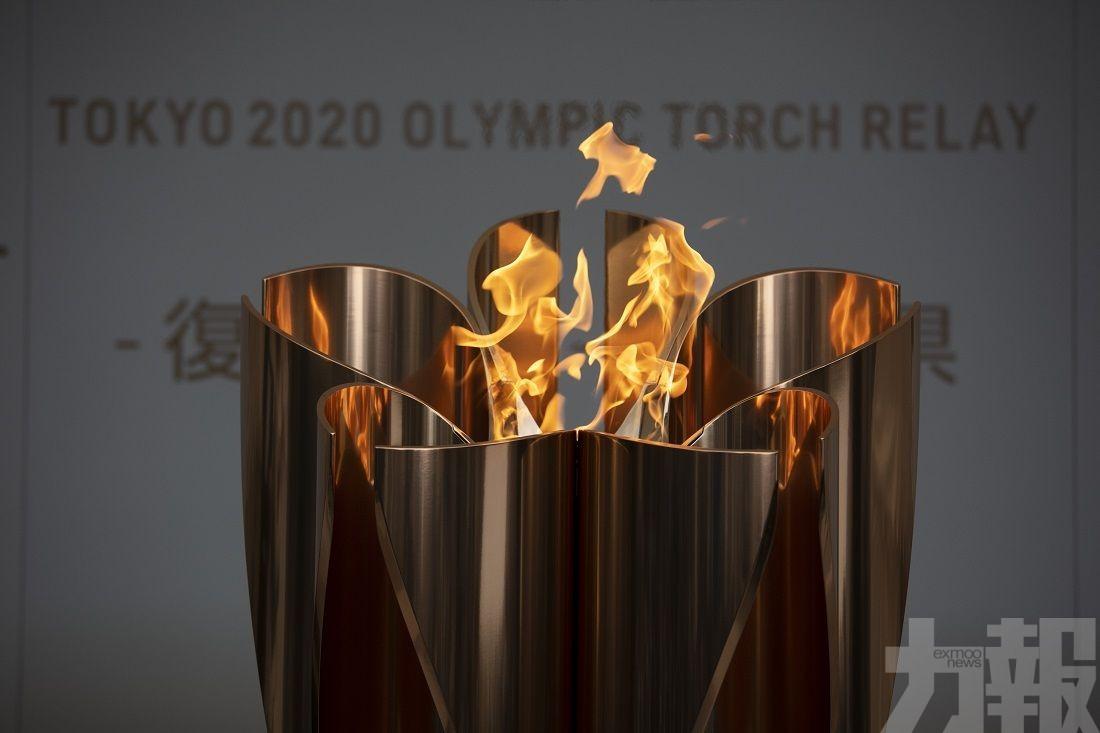 福島今日燃起奧運之火