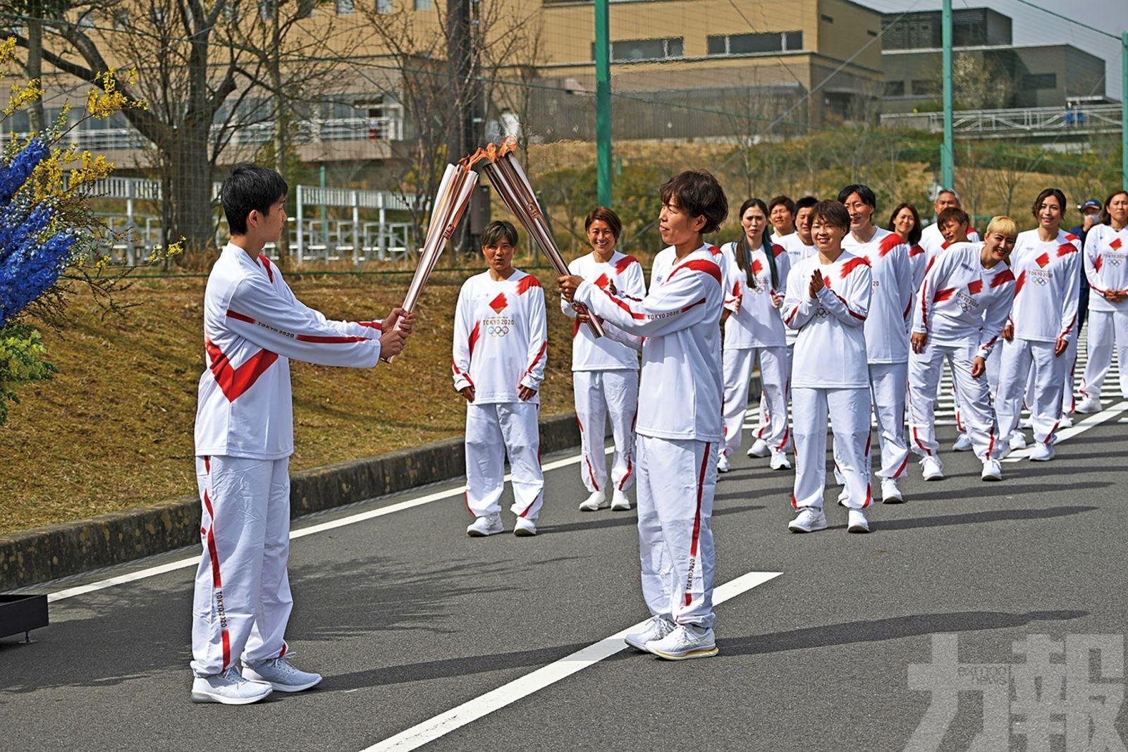 聖火燃起舉辦奧運希望