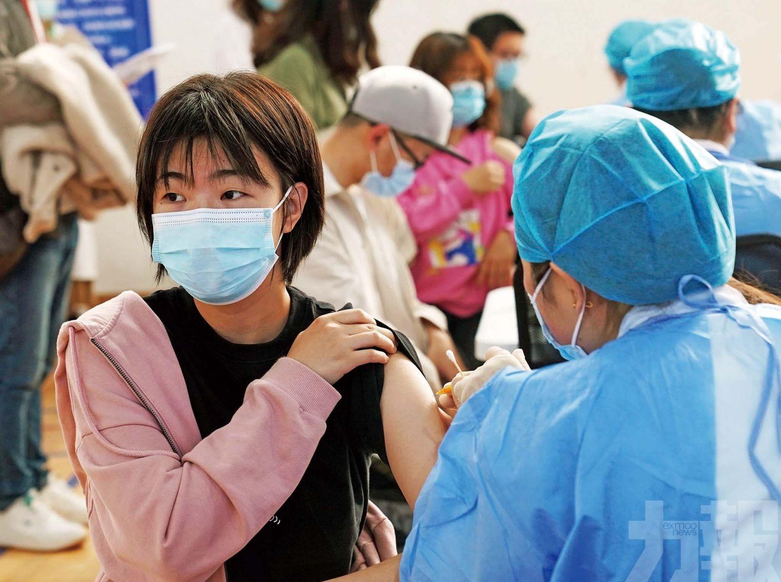 以往感染者可半年後接種一劑疫苗