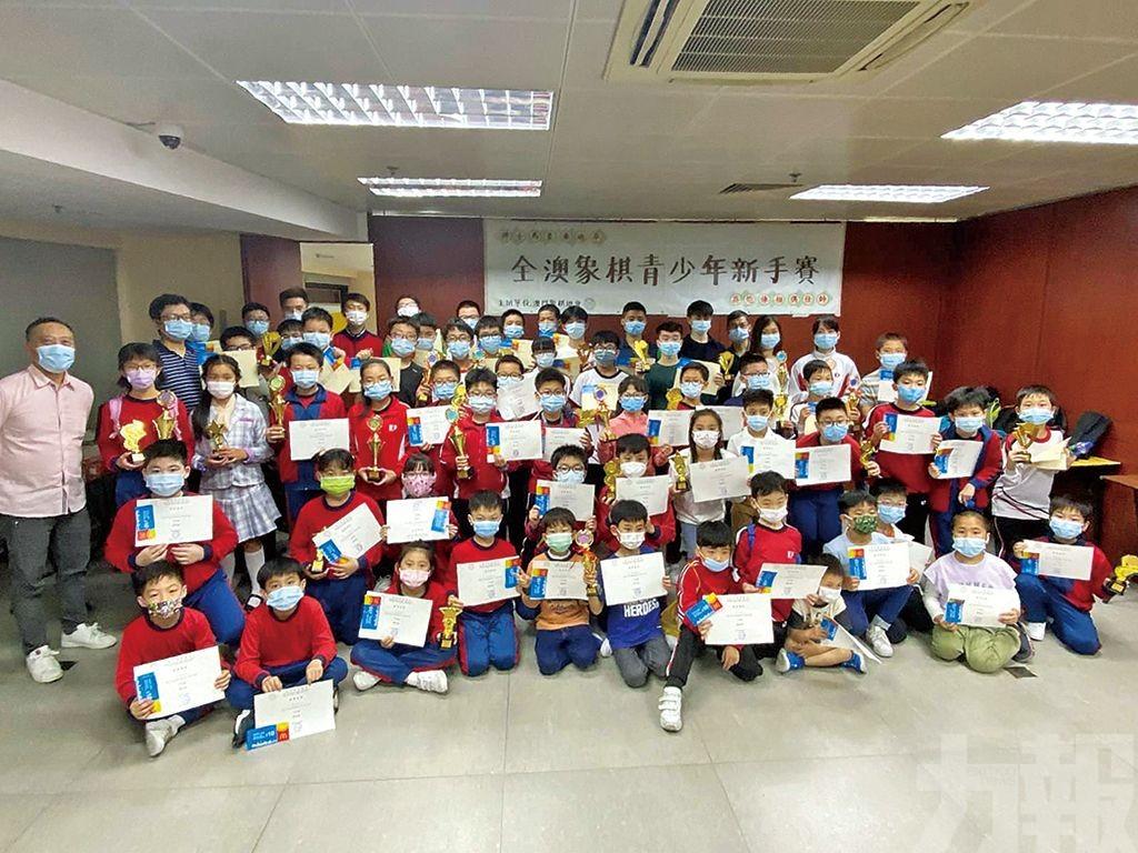 74小棋手參與全澳象棋青少年新手賽