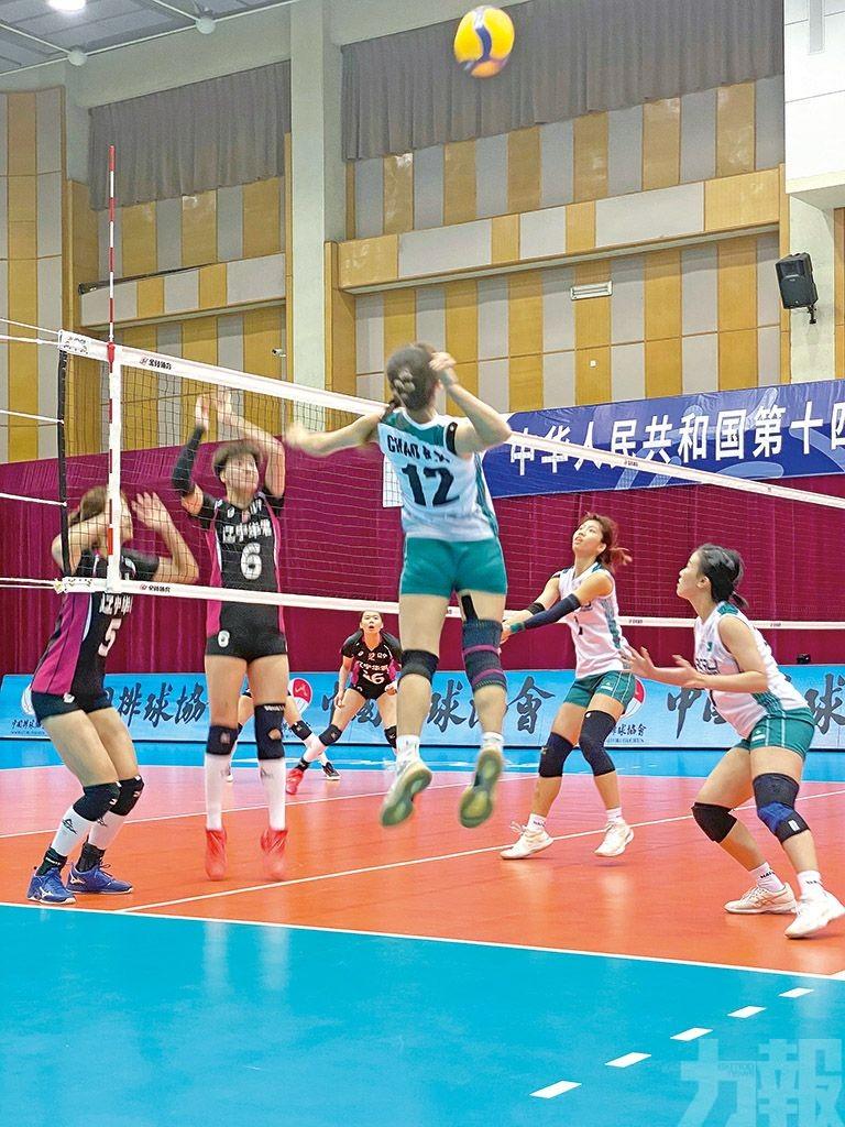 澳門女排全運會資格賽吃兩連敗