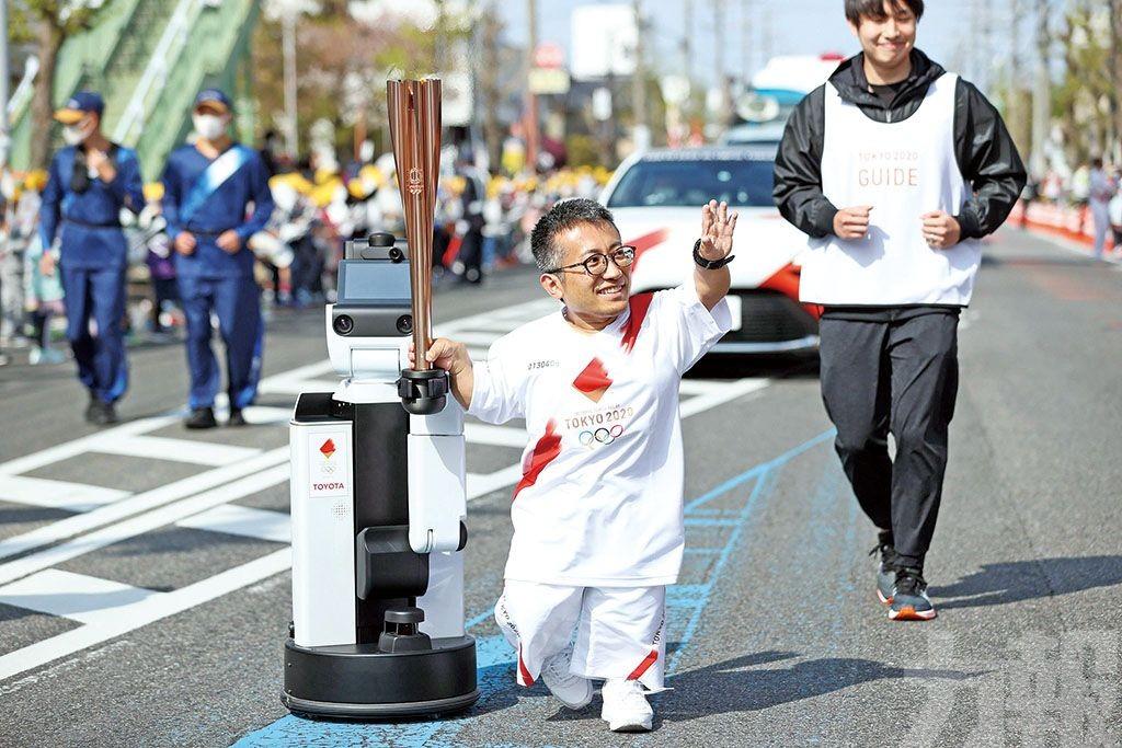 大阪取消聖火傳遞活動