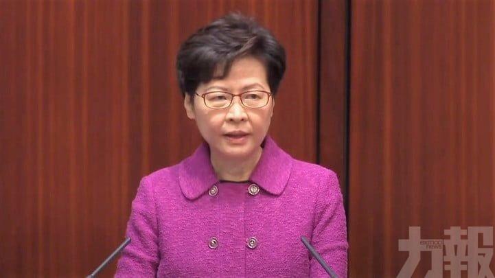 林鄭:香港疫苗接種率不算理想