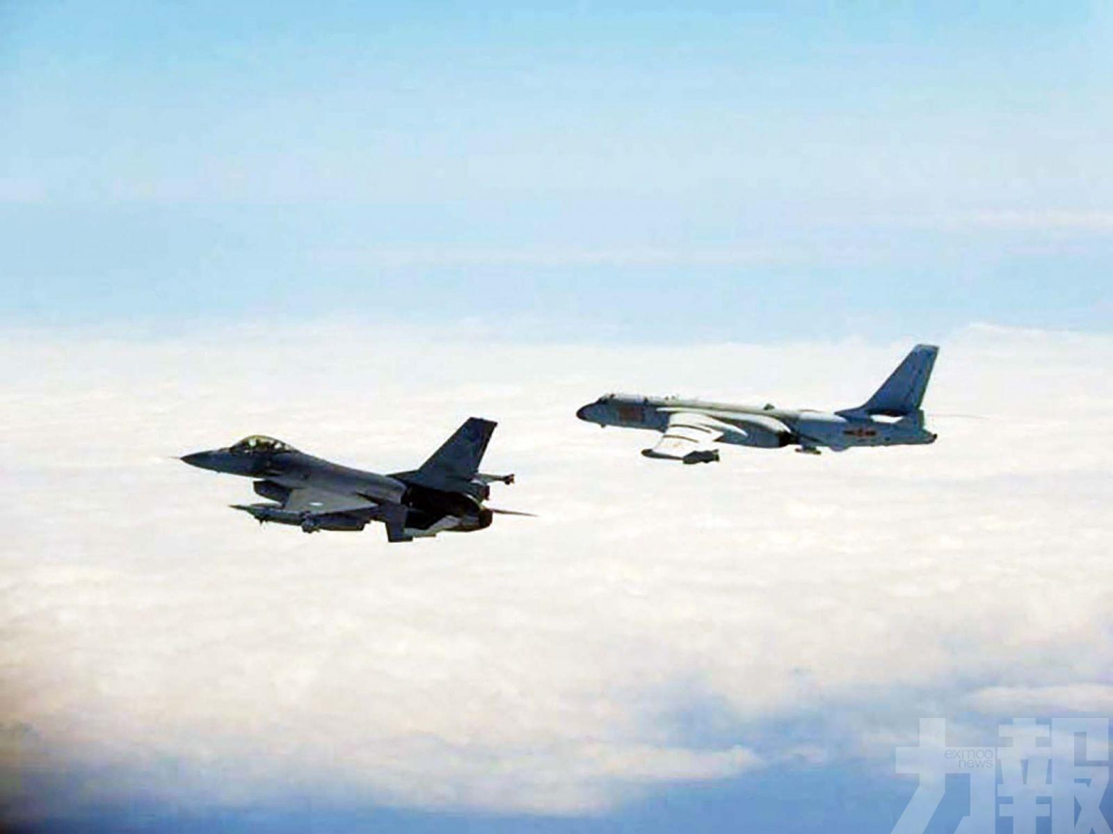 台媒指台西南空域如練兵場