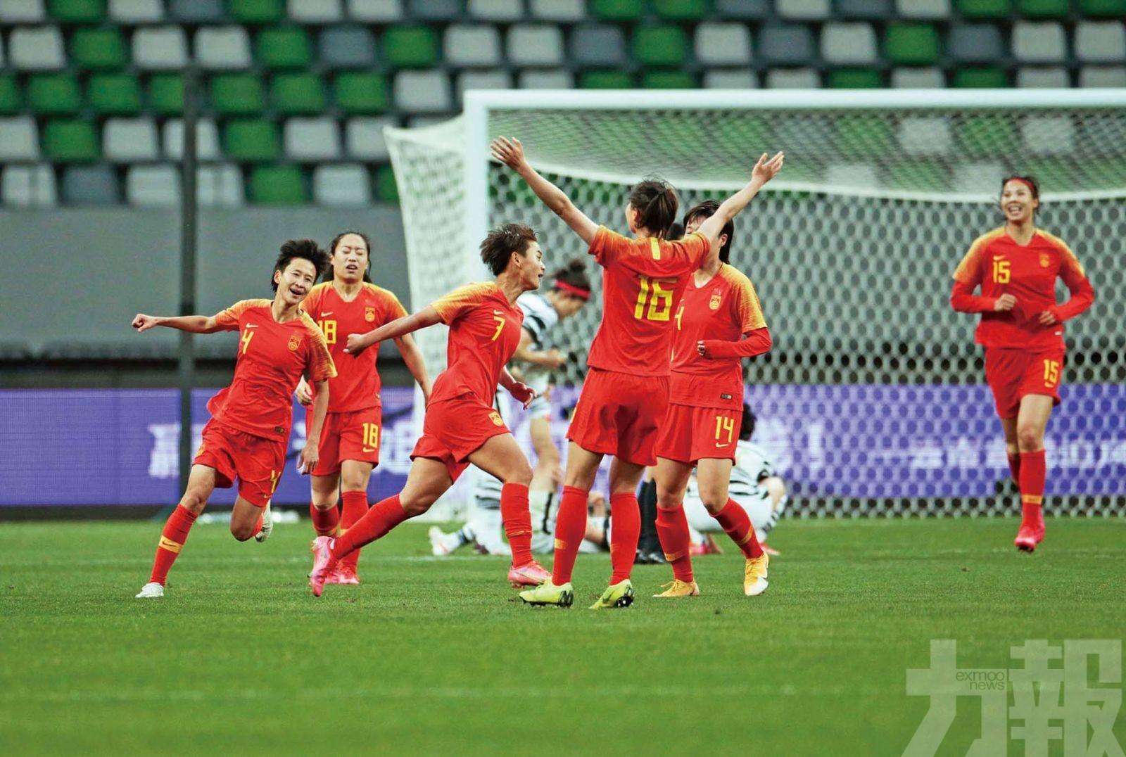 中國女足加時挫韓國奪奧運出線權