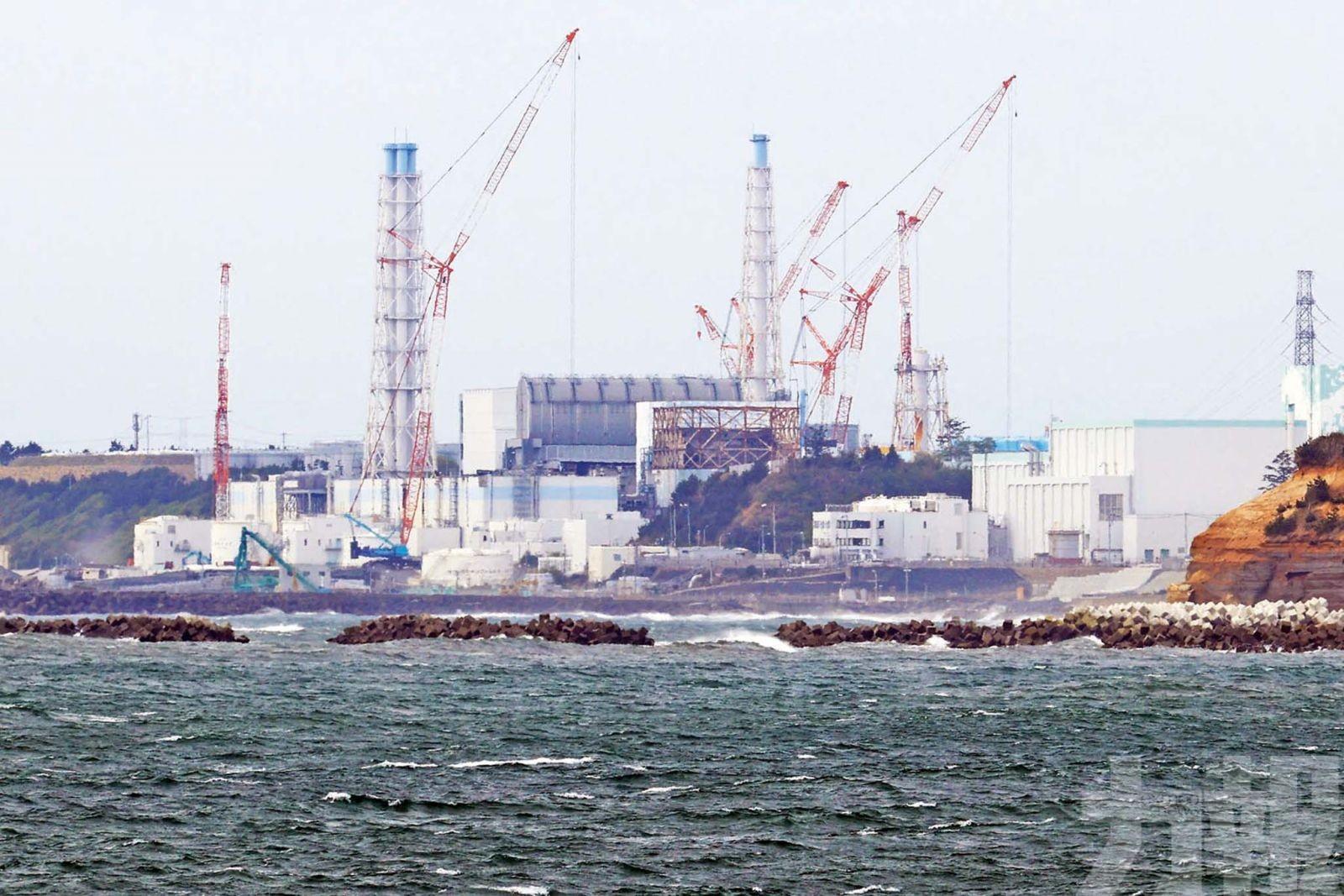 125萬噸核污水排入海