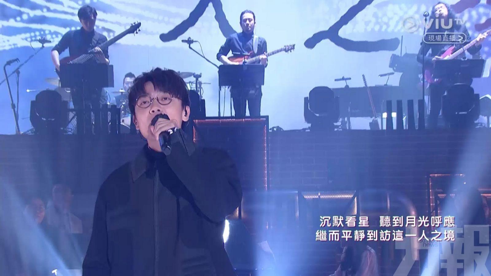 林家謙贏姜濤奪年度男歌手金獎