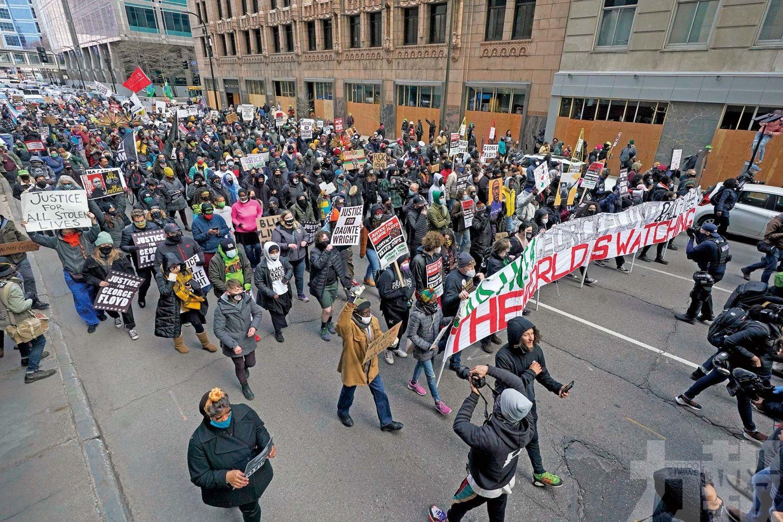 多城升級保安防暴力示威