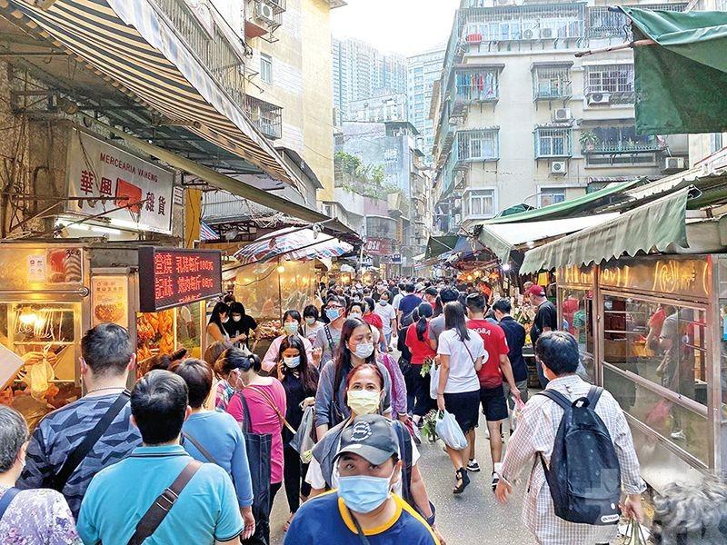 人口密度全球最高 每平方公里20,800人