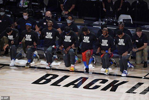 奧運嚴禁出現BLM單膝下跪