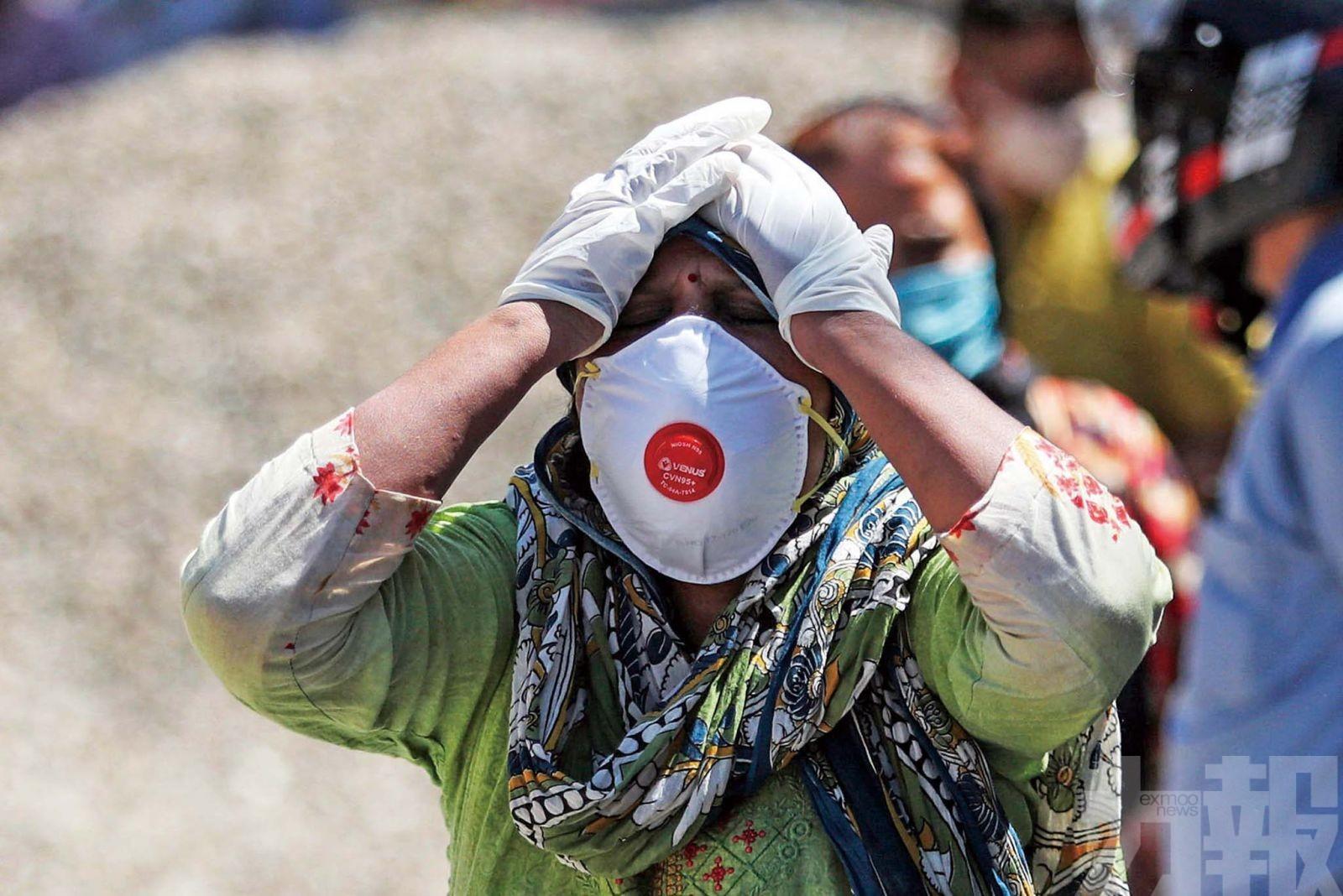 專家料印度將日增百萬確診