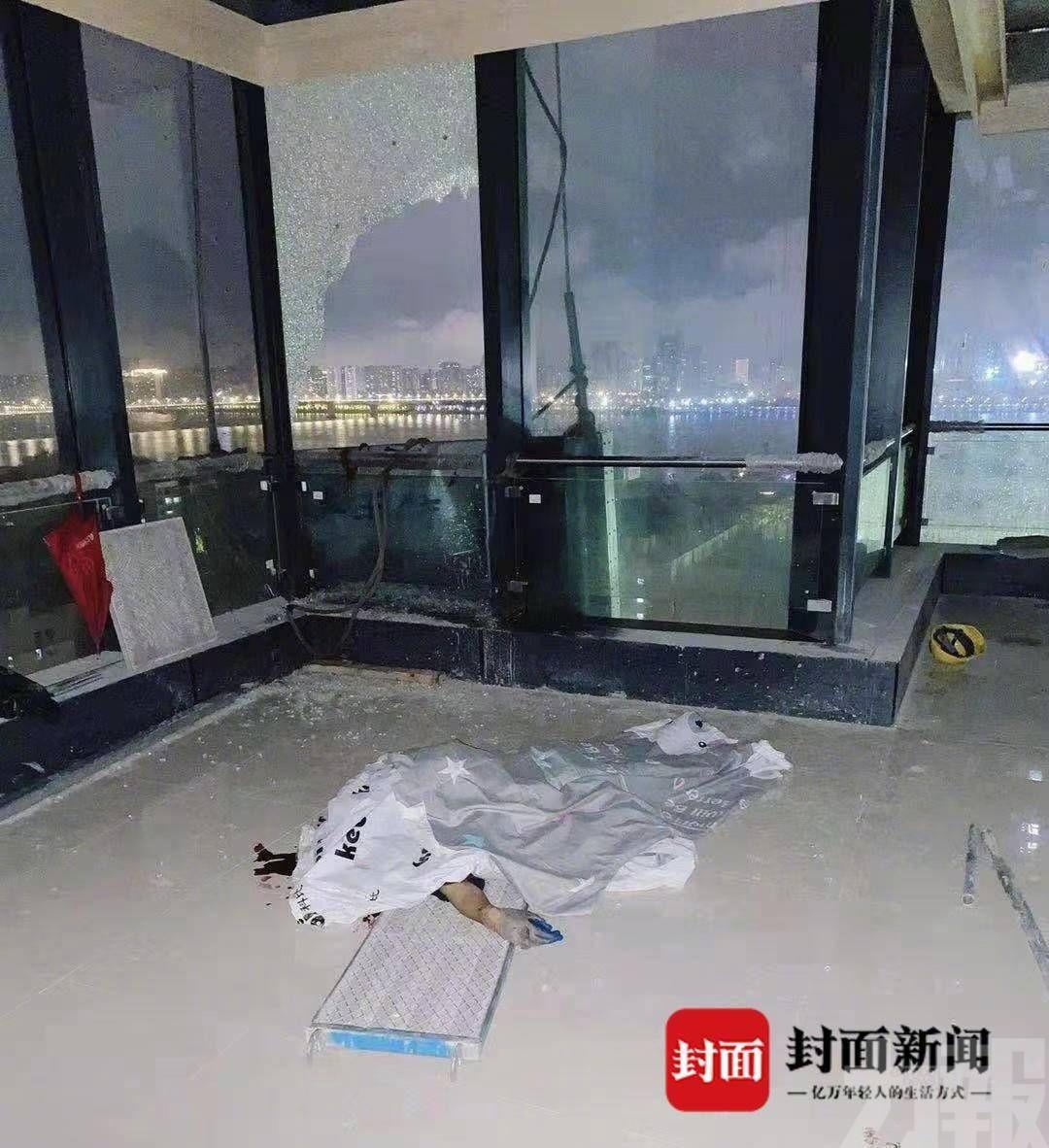 武漢兩洗窗工人慘死