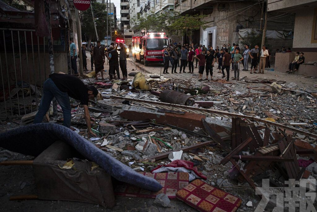 以色列對加沙地帶發動空襲