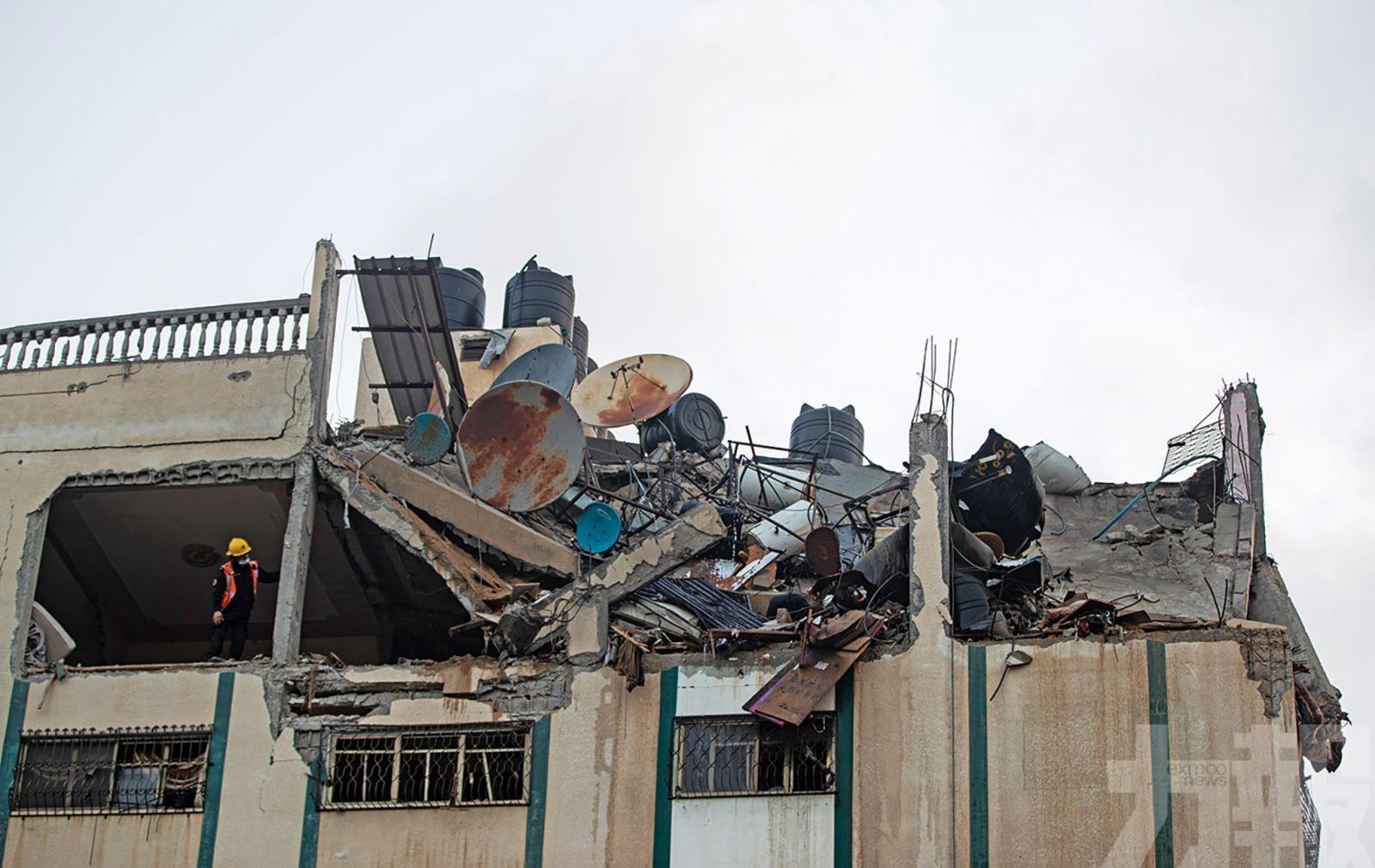 加沙地帶24人喪命包括九孩童