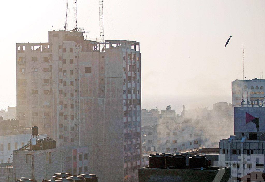 哈馬斯狂射1,500枚火箭彈 互轟升級釀逾70死