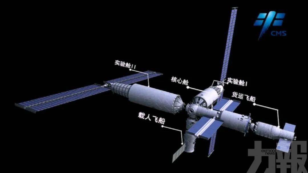 天舟二號貨運飛船轉至發射區