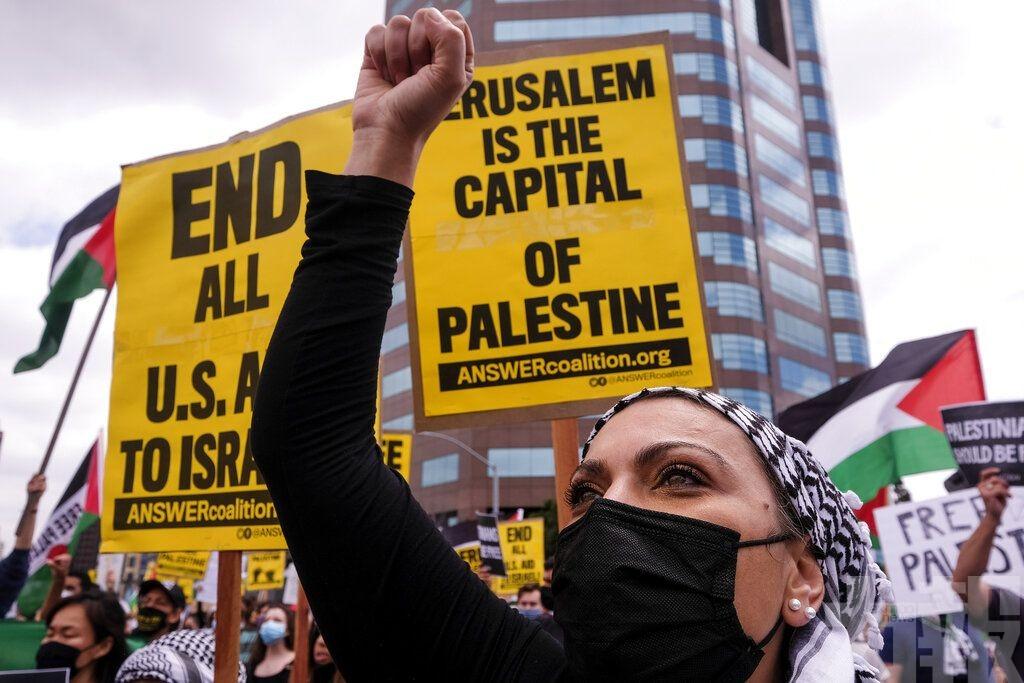 聲援巴勒斯坦