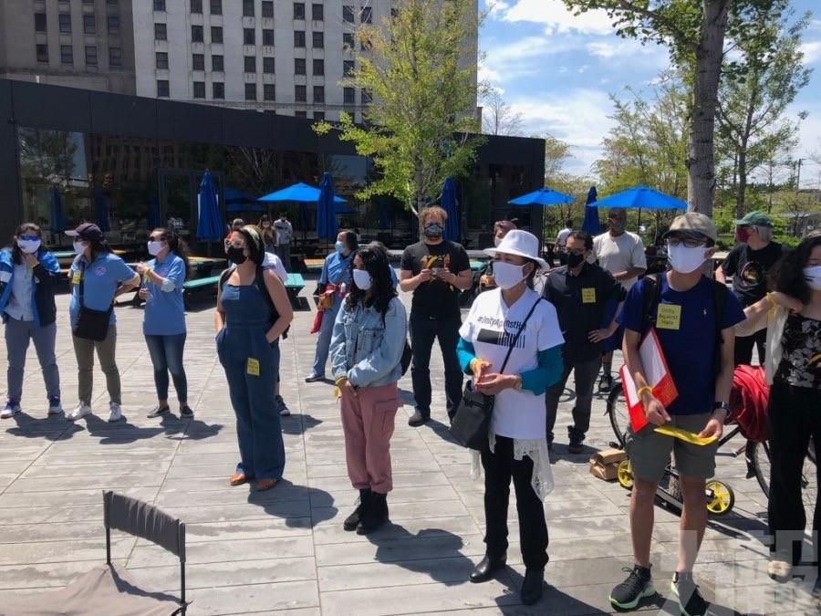 美國多個城市舉行反仇視亞裔集會